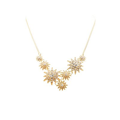 Crystal Stars Collar Necklace