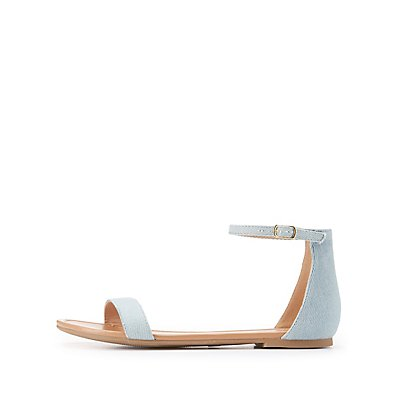 Two-Piece Flat Sandals