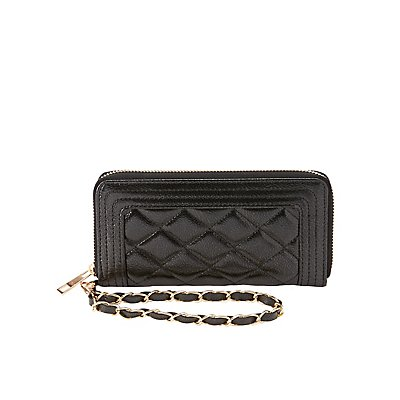 Quilted Wristlet Wallet