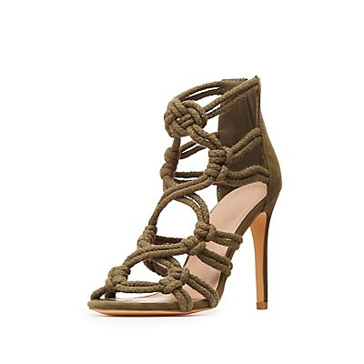 Knotted Rope Dress Sandals