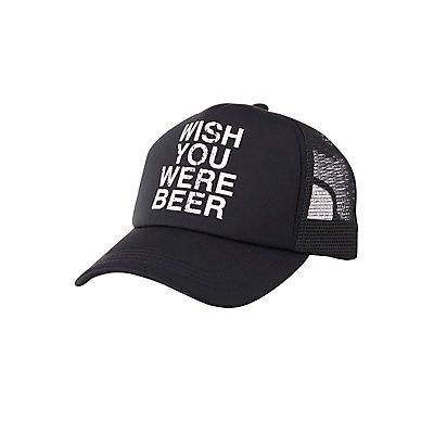 Wish You Were Beer Trucker Hat
