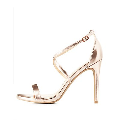 Strappy Crisscross Dress Sandals