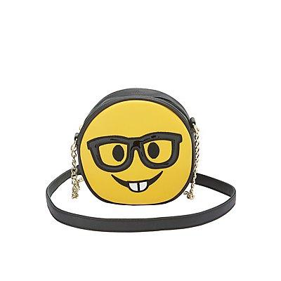 Nerdy Face Crossbody Bag