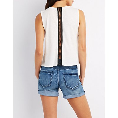 Palm Springs Graphic Muscle Tee
