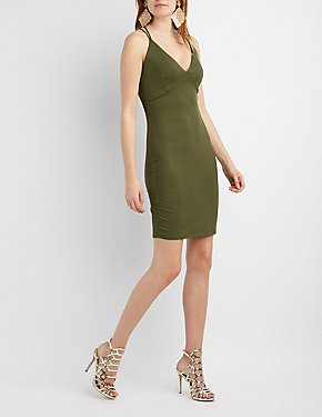 Strappy Racerback Bodycon Dress