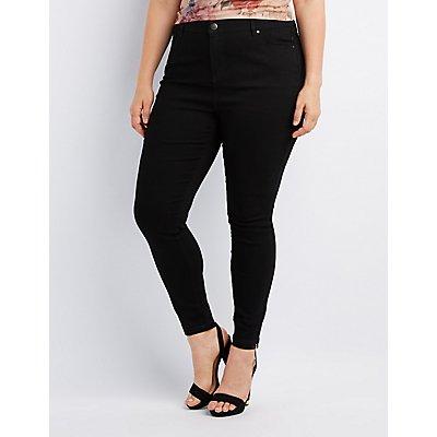 Plus Size Refuge Hi-Rise Skinny Jeans