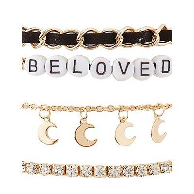 Beloved Layering Bracelets - 6 Pack