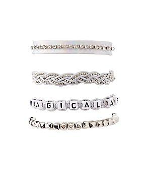 Magical AF Layering Bracelets - 4 Pack