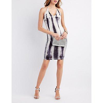 Tie Dye T-Back Dress