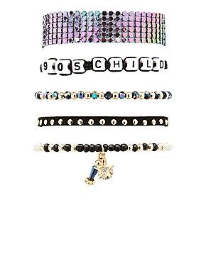 90's Child Layering Bracelets - 5 Pack