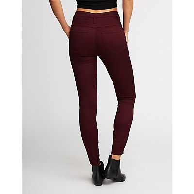 Refuge High Waist Skinny Jeans