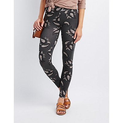 Paisley High-Waisted Leggings