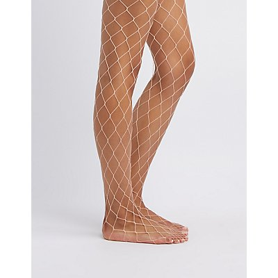 Exploded Fishnet Tights