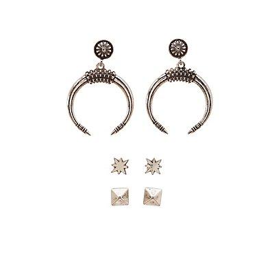 Boho Earrings - 3 Pack