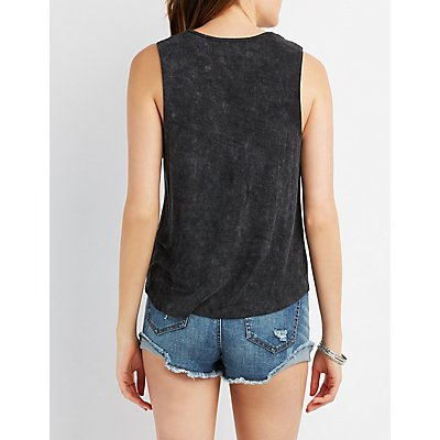 Rock & Roll Graphic Muscle Tee