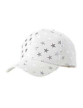 Star Print Baseball Hat