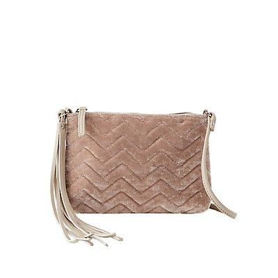 Velvet Combo Crossbody Bag