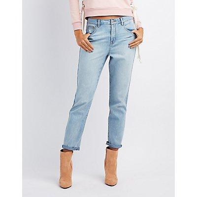Refuge Hi-Rise Mom Jeans