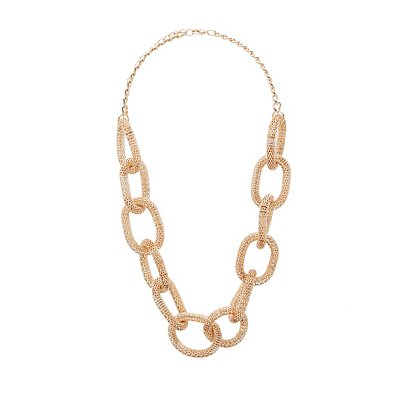 Oversize Chainlink Necklace