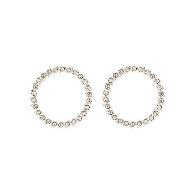 Embellished Hoop Earrings
