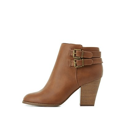 Buckled Ankle Booties