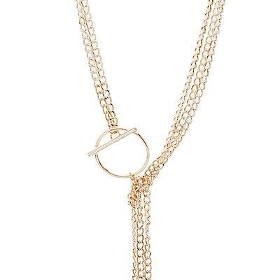 Oversize Chainlink Bolero Necklace