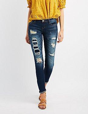 Destroyed Skinny Jeans