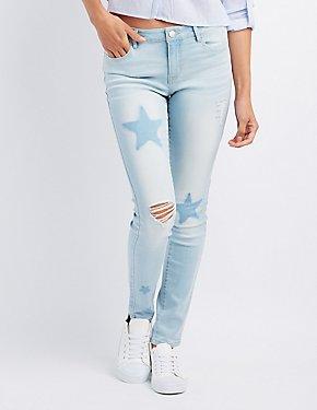 Refuge Star Destroyed Boyfriend Jeans
