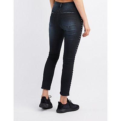 Refuge Studded Skinny Jeans