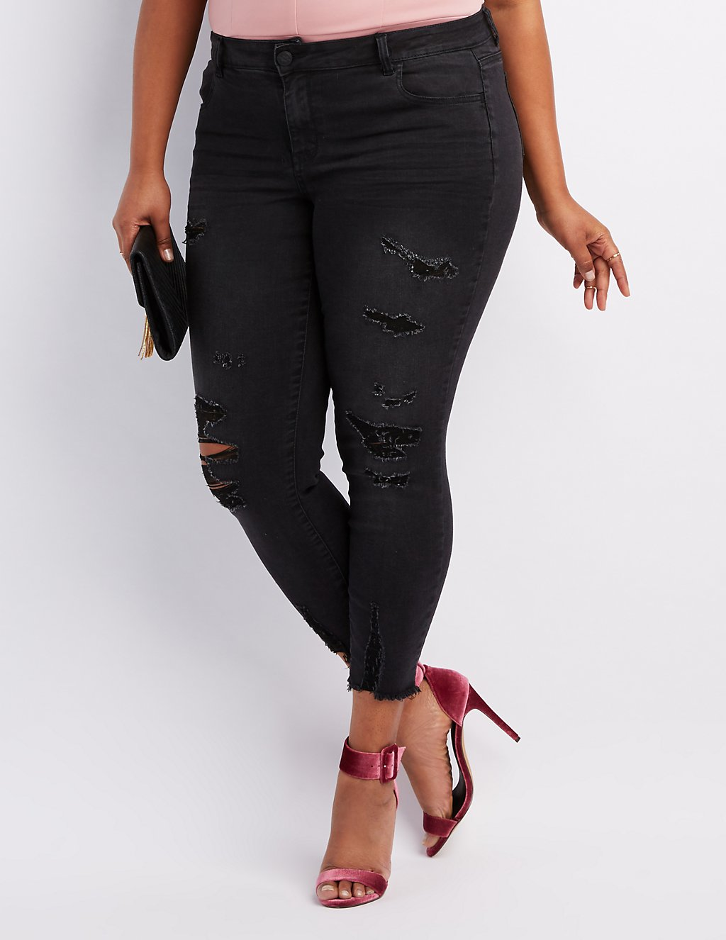 277ae7bf13d ShopandBox - Buy Plus Size Refuge Skin Tight Legging Jeans from US