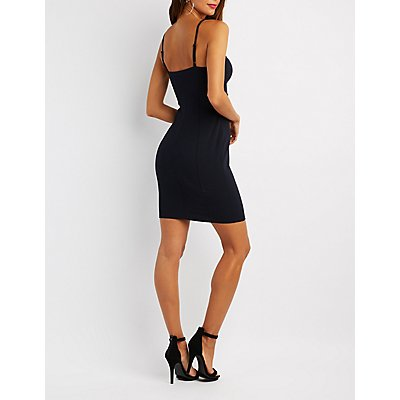 Harness Bustier Bodycon Dress