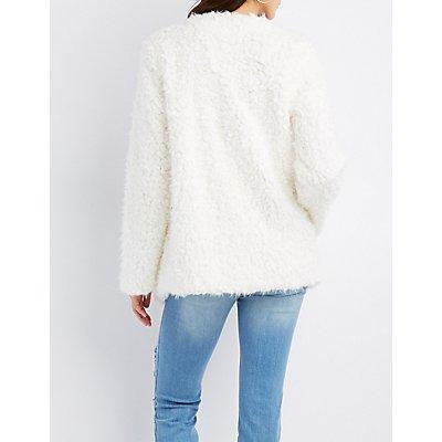 Shaggy Faux Fur Jacket