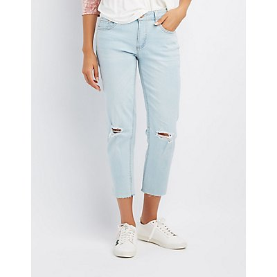 Refuge Distressed Skinny Jeans