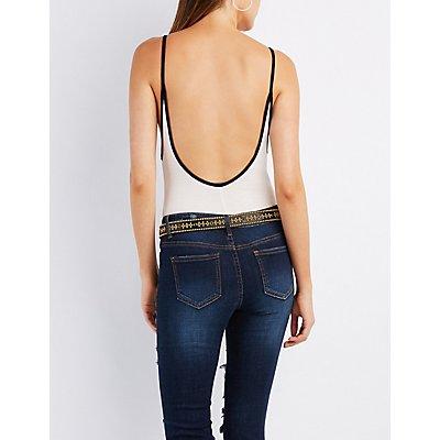 Femme Forever Backless Bodysuit