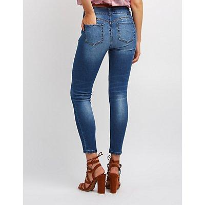 Push-Up Skinny Jeans