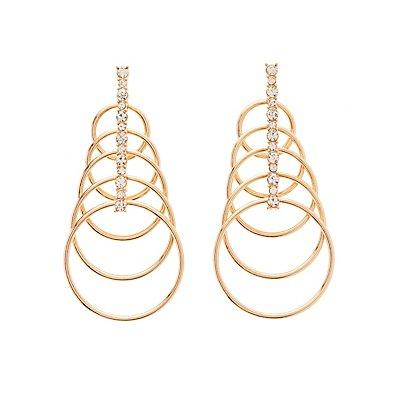 Tiered Circle Earrings