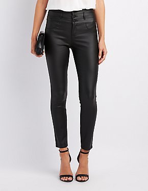 Refuge Coated Skinny Jeans