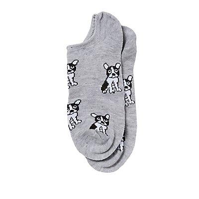 Frenchie Ankle Socks