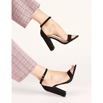 Becca Ankle Strap Heeled Sandals
