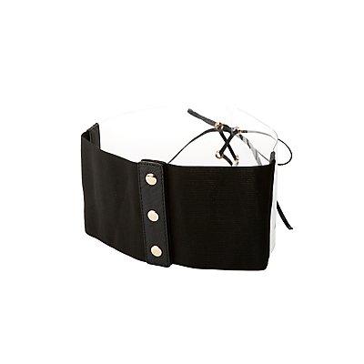 Clear Corset Waist Belt