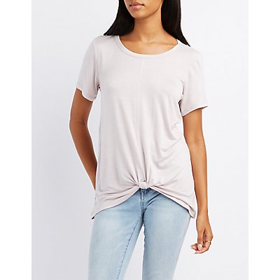 Knotted Tunic Tee