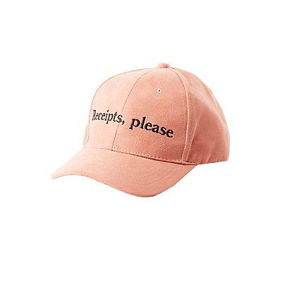 Receipts, Please Baseball Hat