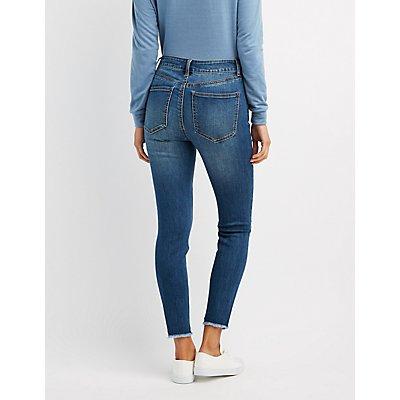Refuge Destroyed Hi-Rise Skinny Jeans