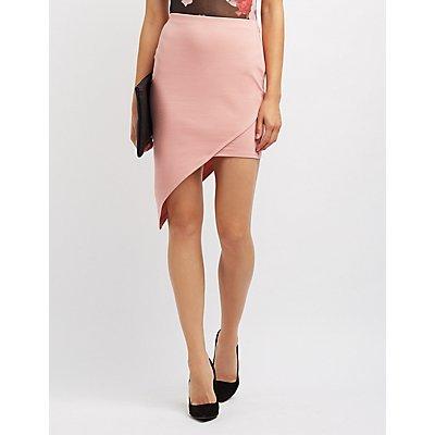 Asymmetrical Bodycon Skirt
