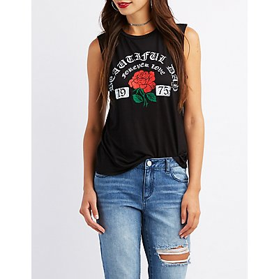 Beautiful Day Graphic Tank Top