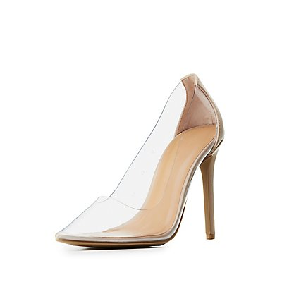 Clear Shoes & Transparent Shoes; Product was successfully added to your shopping cart. Go to cart page Continue. Women's Champagne Dress Shoes Pointy Toe Stiletto Clear Heels Pumps. $ Add to Cart Options. Clear Heels Silver Stiletto Heels Hollow out Sandals. $