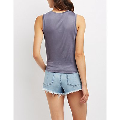Soul Graphic Cropped Tank Top