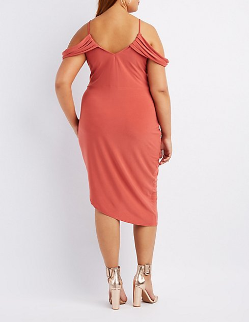 overstock shipping draped over dress drapes size free plus s clothing on womens shoes orders product moa women collection