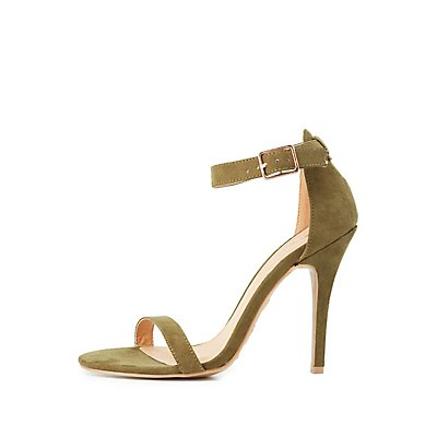 Buckled Two-Piece Dress Sandals