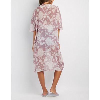 Paisley Duster Kimono